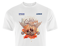 Asbis Harley Party Tshirt