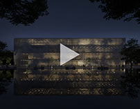 Dynamic building - Architectural 3D animation project