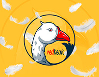 Red beak logo
