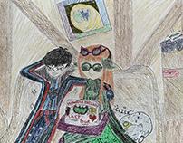 Joker (Nightwing) x Futaba (Batgirl)