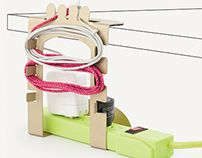 Powerstrip and Cable Organizer