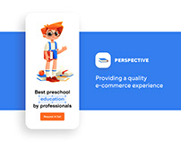 Preschool education landing page