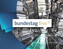 Das Erste, Bundestag Live