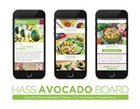 HASS Avocados | Newsletter Design Samples