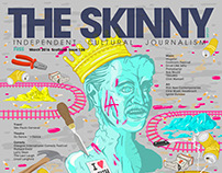 Cover for The Skinny Magazine