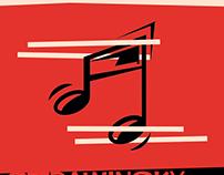 Poster Series: Saul Bass, Baskerville, & Lissitzky