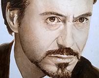 Study For Portrait Of Robert Downey Jr.