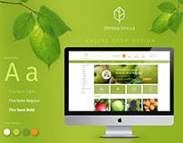 dereva.lviv.ua - online shop design