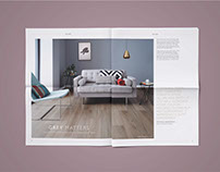 Woodpecker Flooring: Style Guides Newsprint