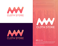 MW Cloth Store Branding Design