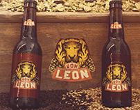 Rótulo Cerveja Don Leon