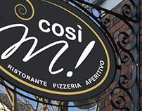COSI'M!* logo design