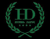 Hotel Dafni: Logo & Tri-Fold Brochure