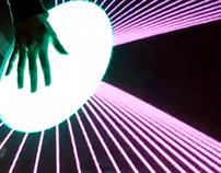 interactive: kinect + MIDI + DMX + oF