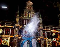 Winter in Antwerp - Video mapping