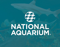 National Aquarium Visual Brand Refresh