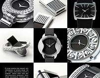 Watches and accessories for Nika Watch Factory.
