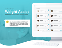 Weight Assist • Web App For Physicians