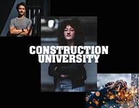 Construction University - Webdesign