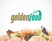 Imagen corporativa marca GOLDEN FOOD
