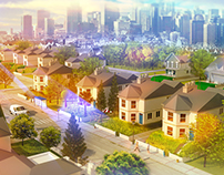 Neighborhood Concept art
