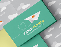 Paper Planes Papelaria/ Party Supplies Store Branding