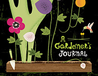 A Gardener's Journal and Floral Patterns