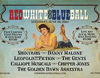 Red White & Blue Ball - Design