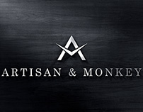Artisan & Monkey Watches Logo Design
