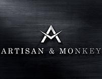 Artisan & Monkey Watches Logo Design