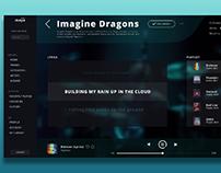 Maya Music plateform (Spotify alternative)- UI