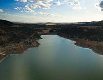 Quipolly Dam, Central New South Wales, Australia