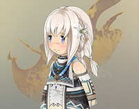 Final Fantasy XIV : Luh the cute Lalafell