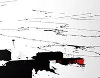 Afiche de cine [La Cosa] de John Carpenter