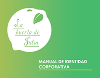 "Manual de identidad corporativa ""La Huerta de Julia"""