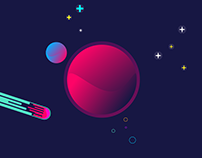 🌟 Space Illustration