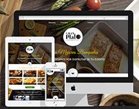 Gran Plato Banquetes Website