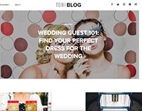 Blog Design & Development for fashion retailer tobi.com