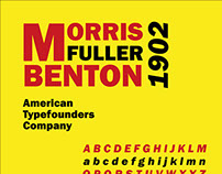 Typeface Poster - Franklin Gothic