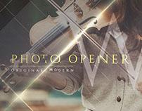 Original Modern Photo Opener