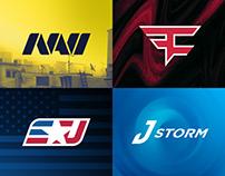 Logo update concepts. Part1: ESPORTS