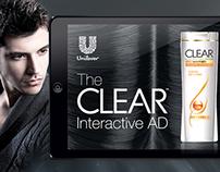 Clear Shampoo Unilever´s Interactive AD