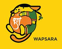 Wapsara - WordCamp Pune 2017 Wapuu