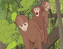 Jungle trio