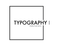 YSDN Year I: Typography I
