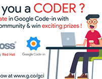 JBoss outreach community poster for Google Code-in 2017