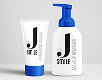 Facial care products packaging design