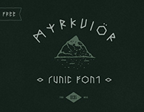 Free font Friday - Myrkvior