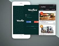 UX UI of Woofers Mobile App