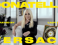 """Donatella Versace tribute ft. Lady Gaga"" for CNN Style"